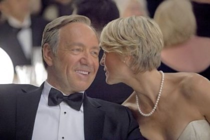 "Kevin Spacey and Robin Wright Kevin Spacey and Robin Wright star in ""House of Cards."""
