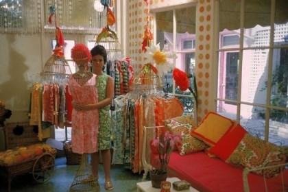 Lilly Pulitzer Lilly Pulitzer in her first shop in 1962.