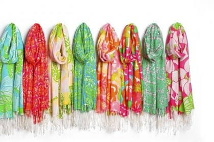 Lilly Pulitzer scarves Lilly Pulitzer scarves.