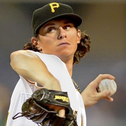 locke Jeff Locke recorded his first major league win Monday.