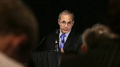 Louis Freeh speaks Former FBI director Louis Freeh speaks during a news conference, Thursday in Philadelphia.