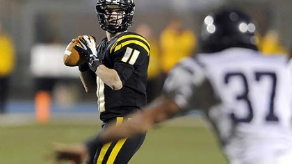 Mack Leftwich North Allegheny quarterback Mack Leftwich has thrown for 3,132 yards this season.