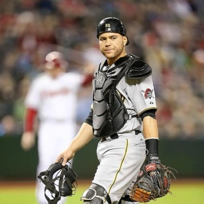 martin Pirates catcher Russell Martin has been behind the plate for a number of all-time greats in his career.