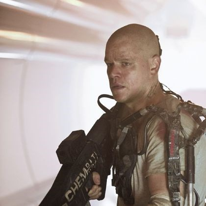 "Matt Damon Matt Damon in ""Elysium."""