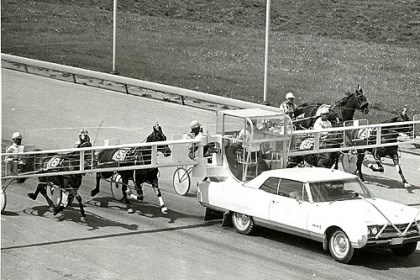 Meadows 5 Horses qualify for races at The Meadows in May, 1969.