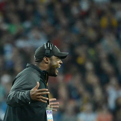 Mike Tomlin Steelers head coach Mike Tomlin is up in arms about a non-holding call on the Vikings.
