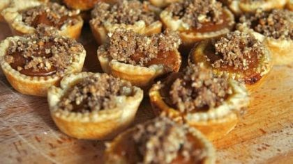 Mini Pumpkin-Maple Tarts Coming Sunday: Mini Pumpkin-Maple Tarts with Toasted Pecan Streusel