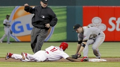 Neil Walker Neil Walker, tagging out Philadelphia's Jimmy Rollins on April 24, has been reactivated by the Pirates after recovering from a hand injury.