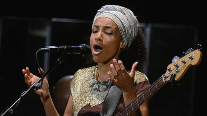 "New album Esperanza Spalding and her group perform music from the new album ""Radio Music Society,"" which encompasses soul, gospel and swing."