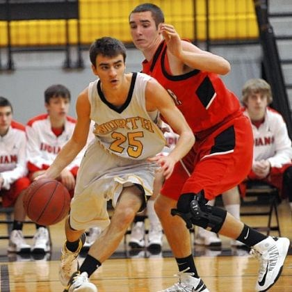 North Allegheny Joe Mancini made 10 3-pointers in a 32-point performance as North Allegheny beat Wheeling Park, 85-63, on Dec. 22.