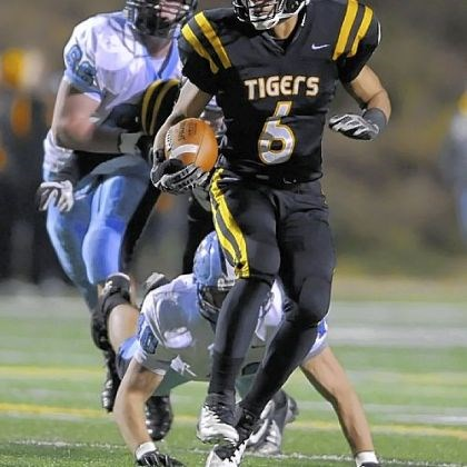 North Allegheny's Elijah Zeise North Allegheny's Elijah Zeise carries against Seneca Valley Friday.