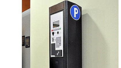 parking meter One of the city's new parking meters.