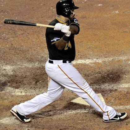 pedro Pedro Alvarez delivers his go-ahead RBI single in the eighth inning off of Kevin Siegrist.