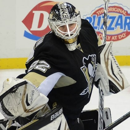 Penguins goalie Tomas Vokoun For Penguins goalie Tomas Vokoun ... a lesson in patience