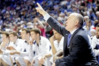 Penn State Penn State coach Patrick Chambers has thrown down a challenge to the student body to fill the Bryce Jordan Center for tonight's game vs. Iowa.