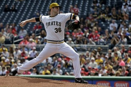 Phil Irwin Pirates pitcher Phil Irwin.
