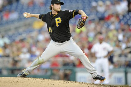 Pirates starter Gerrit Cole Gerrit Cole snapped a personal three-game losing streak Tuesday, allowing the Nationals just two hits in seven innings.
