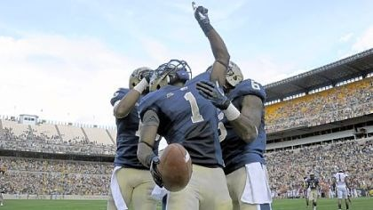 Pitt Football Ray Graham and Pitt will take on Syracuse tonight for the last time as a member of the Big East.
