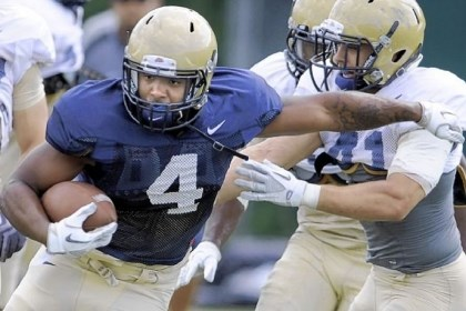 pittfb Like Steven Adams, former Hopewell star and Panthers running back Rushel Shell is leaving Pitt.