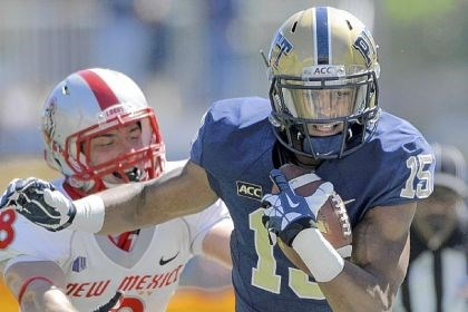 pittfb2 Devin Street has caught 11 passes in Pitt's first two games.
