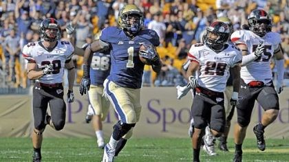 Ray Graham For Ray Graham and the Pitt offense, finding running room against Syracuse last Friday wasn't as easy as the previous game against Gardner-Webb.