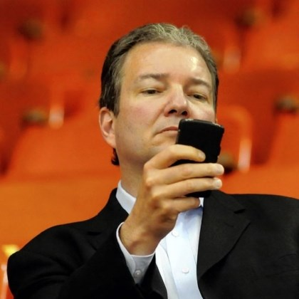Ray Shero Ray Shero, checking his email as he watches practice in 2009, is a finalist for the NHL's general manager of the year award.