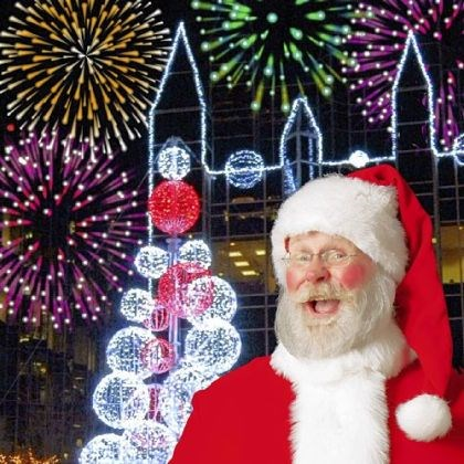 Santa The 14th Santa Spectacular show will take place at Point State Park.