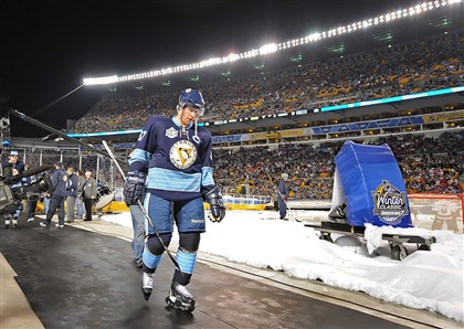 Sidney Crosby Penguins captain Sidney Crosby suffered a head injury Jan. 1 during the Winter Classic at Heinz Field.