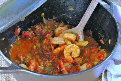 Spicy Shrimp Creole This spicy Shrimp Creole will have you dreaming of the Bayou.