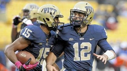 street Pitt receiver Devin Street was Tino Sunseri's favorite target once again Saturday with 140 yards and one touchdown in the fourth quarter against Temple at Heinz Field.