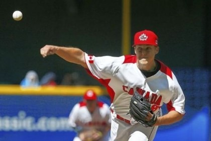 Taillon Pirates pitcher Jameson Taillon, playing for Canada in the World Baseball Classic, throws against the United States Sunday in Phoenix. Taillon allowed one earned run and struck out three over four innings as Canada lost, 9-4.