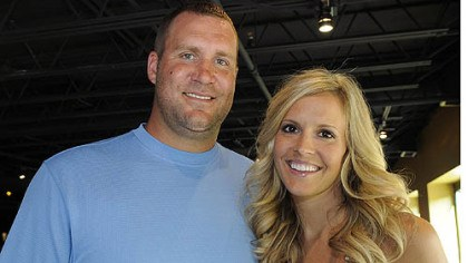 The Roethlisbergers Ben and wife Ashley Roethlisberger.