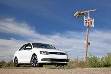 Volkswagen For 2013, Volkswagen has added a hybrid model to its lineup. But the TDI diesel version has long offered mileage north of 40 mpg.