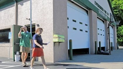 Voters Voters leave the Evergreen Fire Company in Ross after casting their ballots Tuesday in the special election to fill the seat of former state Sen. Jane Orie, who resigned after being convicted of public corruption.