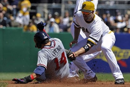 walker Pirates second baseman Neil Walker was unavailable for the game Saturday due to a hand injury.