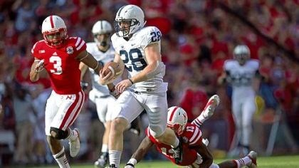 zwinak Penn State's Zach Zwinak (28) breaks free from Nebraska defenders Saturday in Lincoln, Neb.