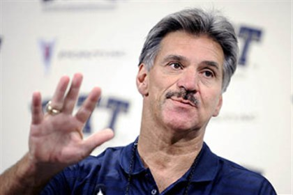 Pitt coach Dave Wannstedt Former Pitt head coach Dave Wannstedt in an undated photo at the team's South Side facility.