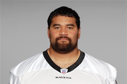 "ngata1128 Steelers offensive tackle Marcus Gilbert on Ravens defensive lineman Haloti Ngata: ""He's a load."""