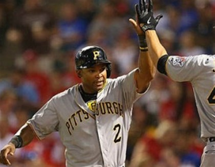 Marlon Byrd and Garrett Jones Marlon Byrd was a vital acquisition for the Pirates last year at the non-waiver trade deadline.