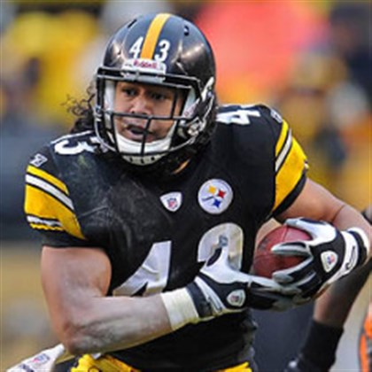 polamalu0430 Steelers safety Troy Polamalu will be one of the last veteran stalwarts on what should be a much younger defense in 2014.