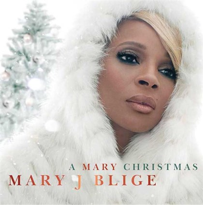 "Blige ""A Mary Christmas"" holiday CD from Mary J. Blige."