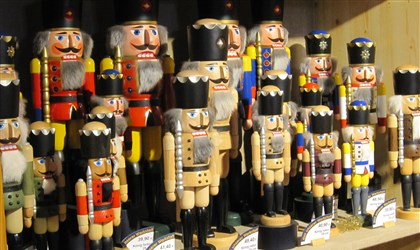 "20131105honutcracker1201tra-3 Skilled woodcrafters and artisans have been making nutcrackers and other high-quality wooden toys for generations in Seiffen, a ""Toy Story"" kind of village in the wooded Ore Mountains region of eastern Germany."