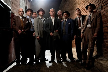 "20131201TVWeek2 The cast of TNT's new drama ""Mob City."""
