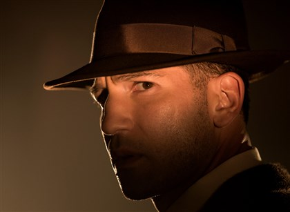 "20131201TVWeek1 Jon Bernthal as Det. Joe Teagu in the new TNT drama ""Mob City."""