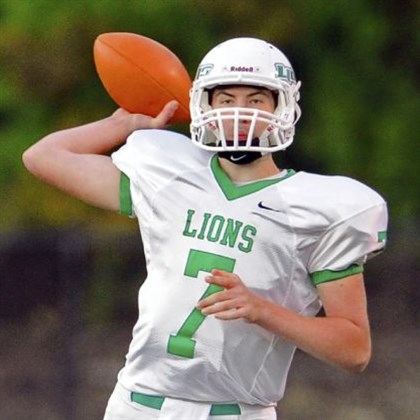 South Fayette Lions South Fayette's Brett Brumbaugh.
