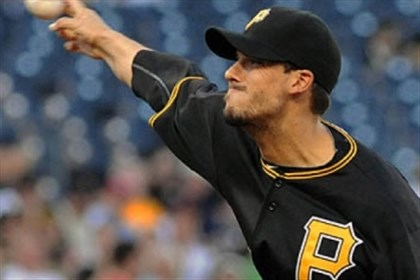 Charlie Morton Charlie Morton, throwing in a game in 2012.