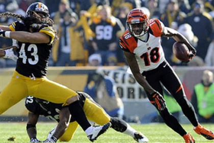 ajgreen1215 Bengals receiver A.J. Green is always a tough matchup for any secondary.