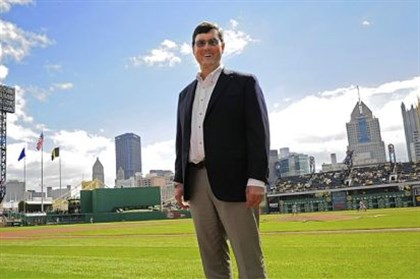 Pirates owner Bob Nutting Pittsburgh Pirates chairman Bob Nutting stands on the grounds of PNC Park.