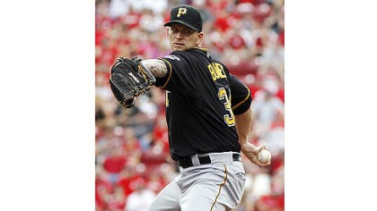 Pirates pitcher A.J. Burnett Starting pitcher A.J. Burnett still hasn't decided if he will retire, return to the Pirates, or, perhaps, go elsewhere next season.