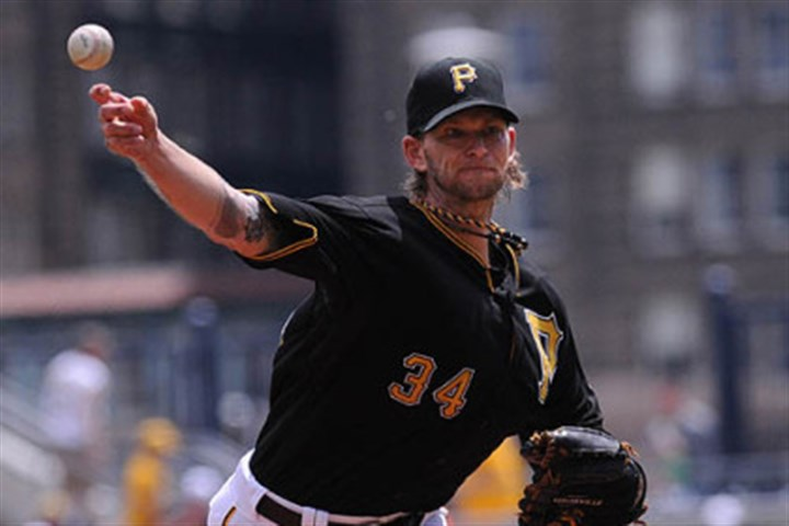 A.J. Burnett file Pirates starter A.J. Burnett returned to the lineup July 7 after a month off with a calf injury.